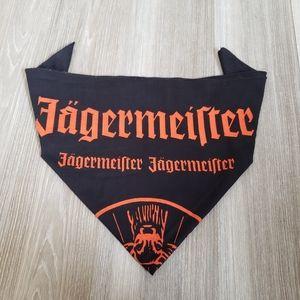 5/$25 Jägermeister Black&Orange Large Pet Bandana